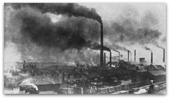 the contribution of industrial revolution to the worlds pollution Although the industrial revolution is often harshly criticized for the negative outputs they brought, such as pollution, poor working conditions, and taking up of rights, it was the industrial revolution that could have prevented britain from the malthusian catastrophe.
