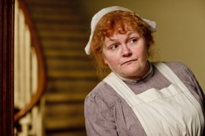 Can't avoid thinking of Annie Cartwright looking a bit like Mrs Patmore in ITV's Downton Abbey...
