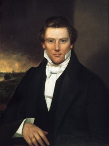 Joseph Smith Jr., the founder of the Church of Jesus Christ and Latter Day Saints (Source: Wikipedia)