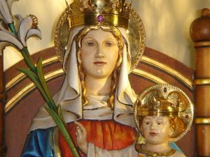 Our Lady of Walsingham, one of the main Catholic shrines in England. (Source: Wikipedia)
