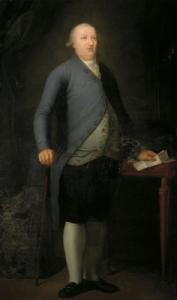 Domingo Gayoso de los Cobos, Conde de Amarante y Marqués de Camarasa. Retrato de Agustín Esteve y Márquez (Fundación Casa Ducal de Medinaceli).