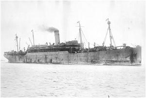 El SS Manchuria.