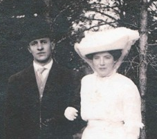 Arthur and Ellen Smith, around the time of their marriage in Canada.