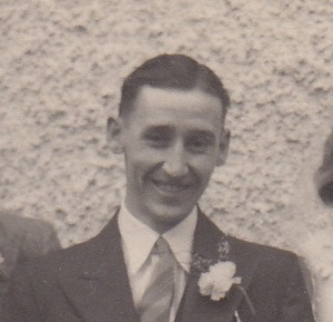 James Arthur Smith on his wedding day. His life would be cut short by consumption less than four years later.