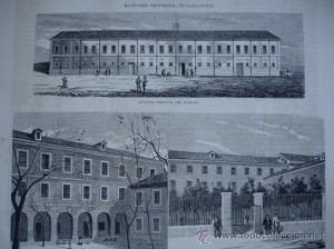 Manicomio provincial de Valladolid, donde Salustiano estuvo internado un tiempo.