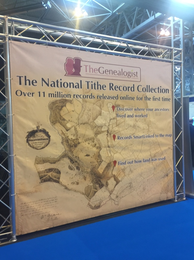 Free lectures at The Genealogist stand...