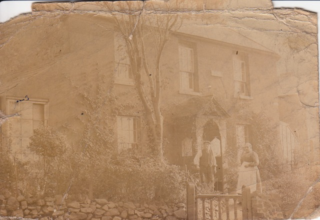 John and Jane Allen outside Ash Villa around the turn of the century.
