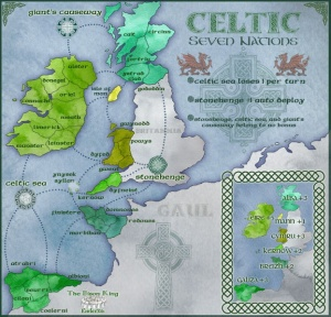 """The """"Seven Celtic Nations"""" which includes Galicia, where most of my maternal ancestors lived at one point."""