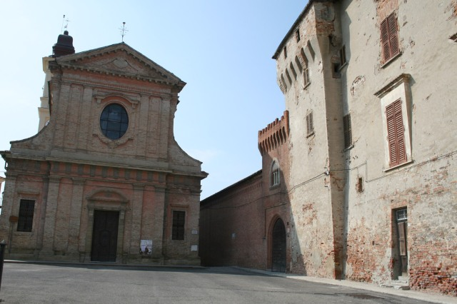 The church of Saint Marziano, in San Marzano Oliveto, where many of my ancestors were married.