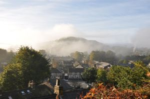 Bollington, Cheshire where the Gaskell family lived at the turn of the last century. Photo source: Happy Valley.