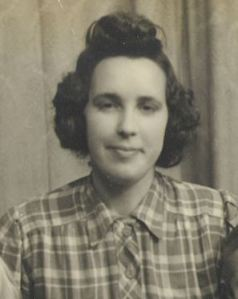 Betty, around 1945.