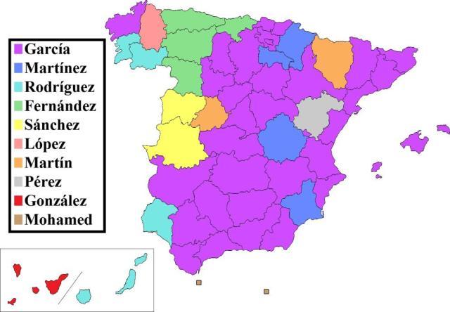 los-apellidos-mas-comunes-de-espana-wikicommons